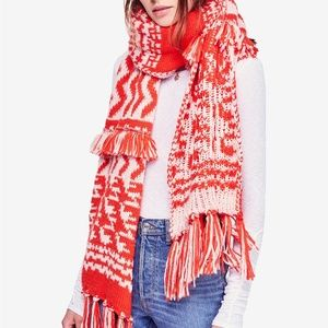 New Free People Mile High Fringe Scarf